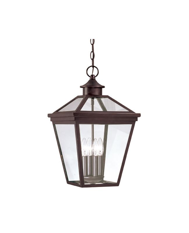 "Savoy House 5-145 Ellijay 4 Light 12"" Wide Single Pendant Outdoor"