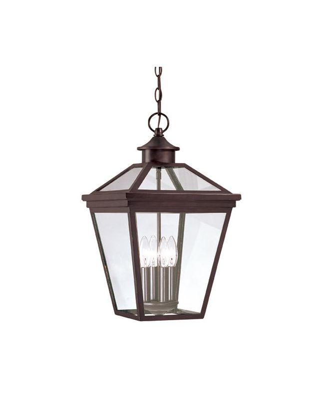 "Savoy House 5-145 Ellijay 4 Light 12"" Wide Single Pendant Outdoor"