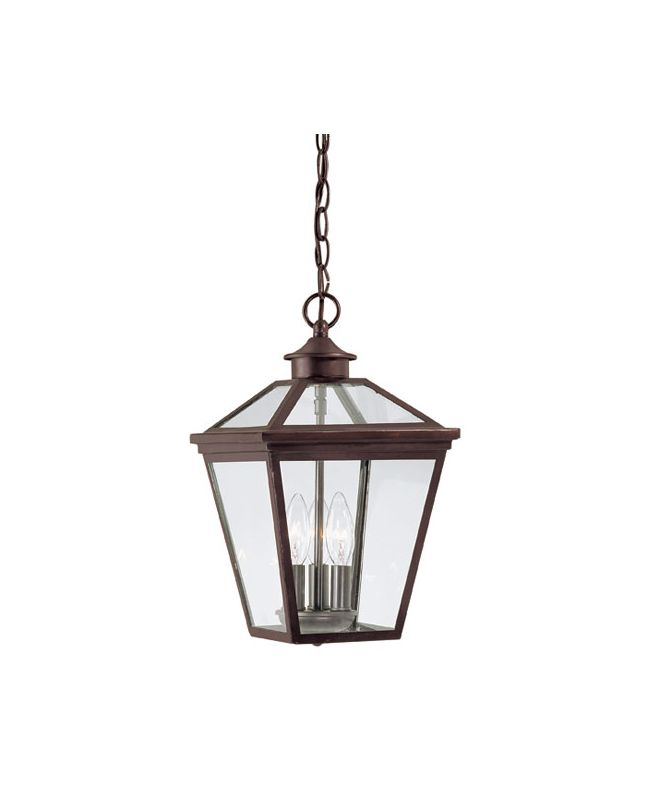 "Savoy House 5-146 Ellijay 3 Light 9"" Wide Single Pendant Outdoor"