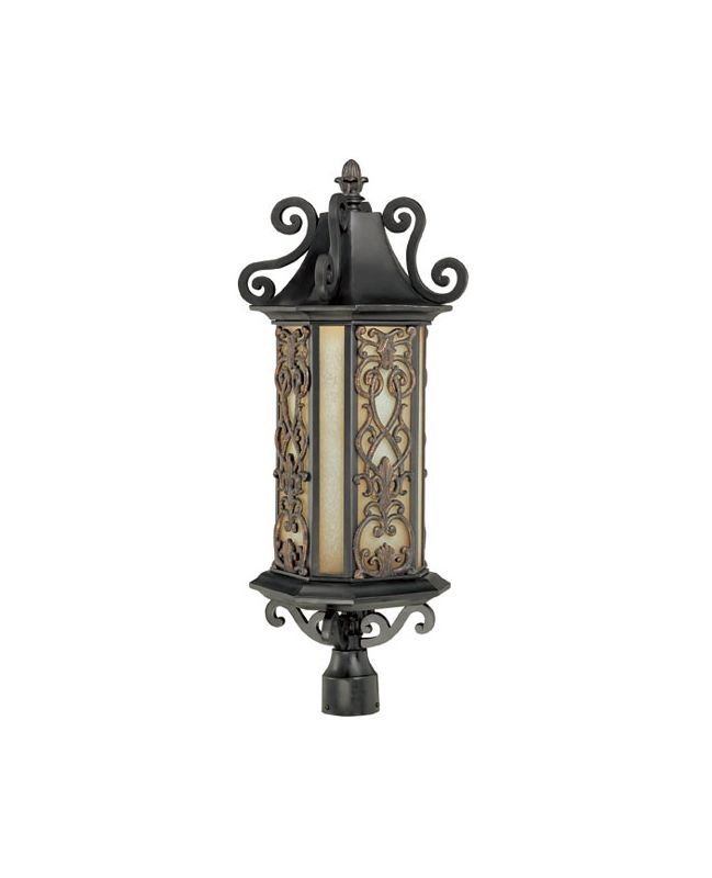 "Savoy House 5-193 Forsyth 6 Light 31.25"" Tall Single Outdoor Post"