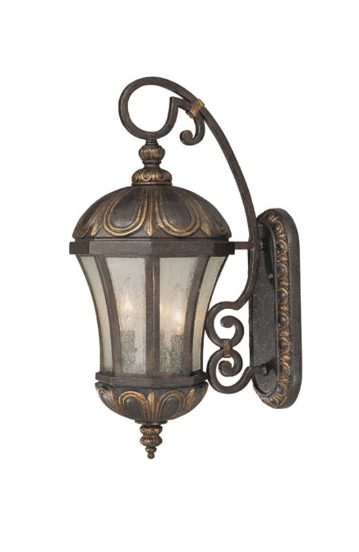 "Savoy House 5-2500 Ponce de Leon 3 Light 22.75"" Tall Outdoor Wall"