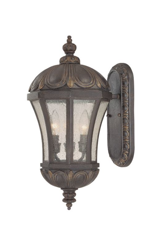 "Savoy House 5-2506 Ponce de Leon 3 Light 19.75"" Tall Outdoor Wall"