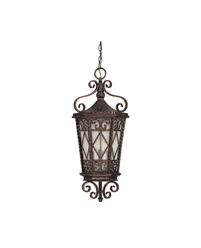 "Savoy House 5-423 Felicity 3 Light 12"" Wide Outdoor Pendant New"