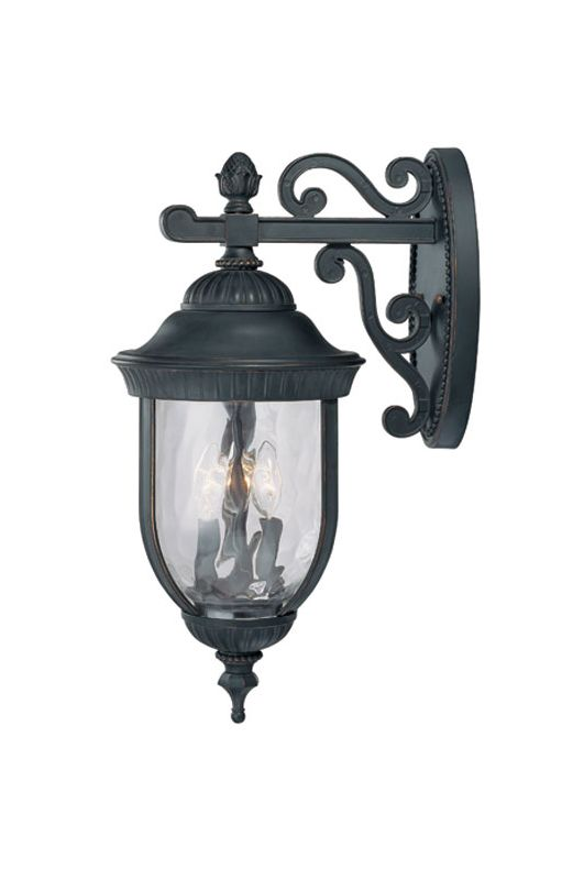 "Savoy House 5-60323 Castlemain 3 Light 23.25"" Tall Outdoor Wall Sconce"