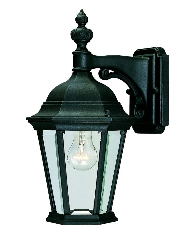 Savoy House 5-1304 1 Light Outdoor Wall Sconce from the Wakefield Sale $106.00 ITEM: bci262948 ID#:5-1304-BK UPC: 822920068478 :