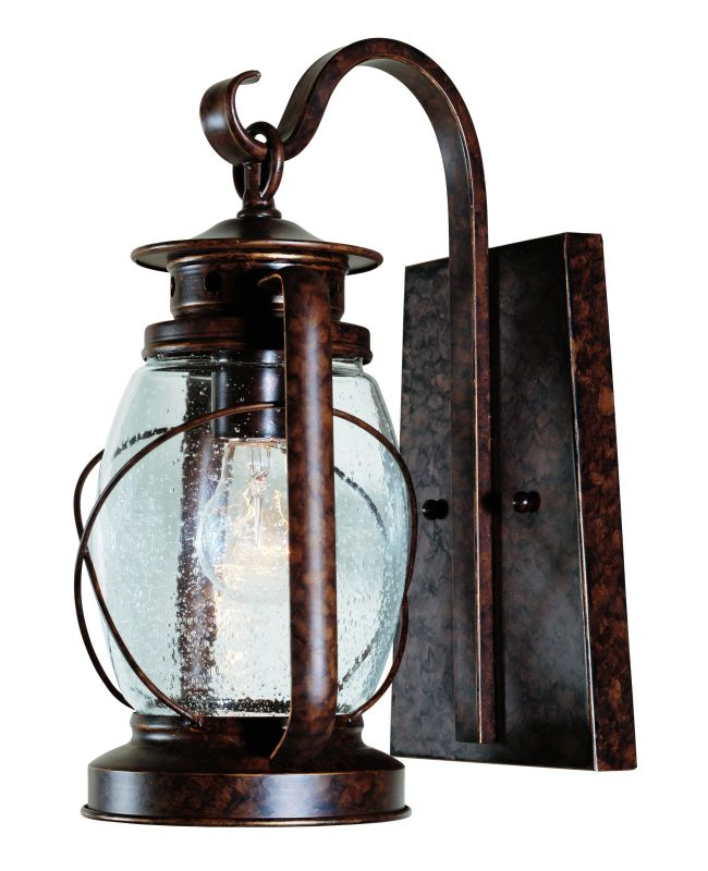 "Savoy House 5-3410 Smith Mountain 1 Light 13.5"" Tall Outdoor Wall Sale $180.00 ITEM: bci263070 ID#:5-3410-56 UPC: 822920118494 :"