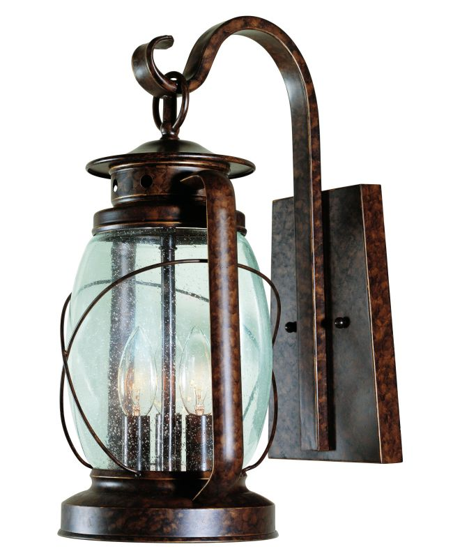 "Savoy House 5-3411 Smith Mountain 3 Light 17"" Tall Outdoor Wall Sconce Sale $258.00 ITEM: bci263072 ID#:5-3411-56 UPC: 822920118517 :"