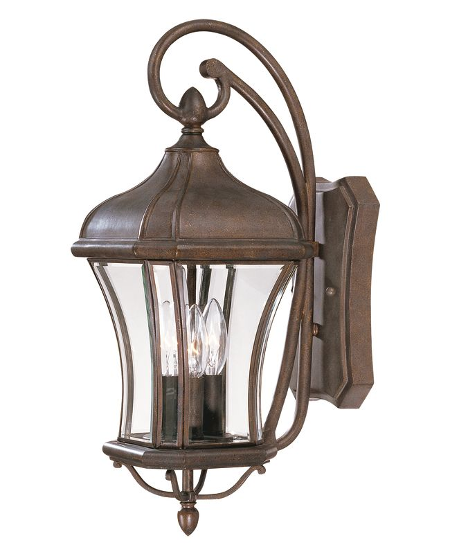 Savoy House 5-3801 Three Light Outdoor Wall Sconce / Lantern from the
