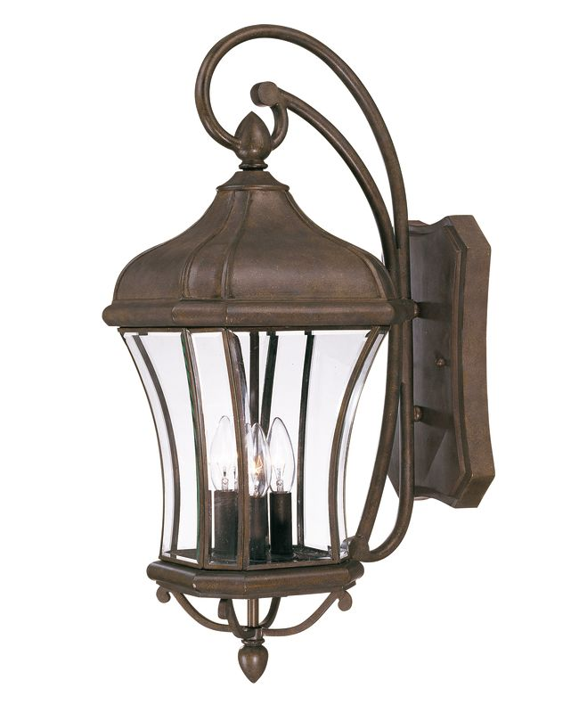 Savoy House 5-3802 Three Light Outdoor Wall Sconce / Lantern from the Sale $348.00 ITEM: bci542013 ID#:5-3802-40 UPC: 822920184505 :