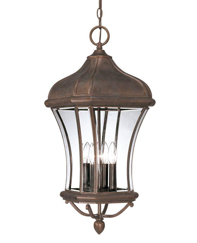 Savoy House 5-3806 Four Light Outdoor Pendant / Hanging Lantern from