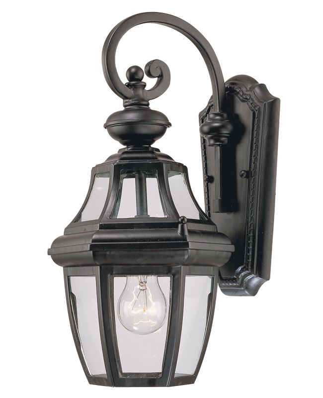 Savoy House 5-491 Endorado 1 Light Outdoor Wall Sconce Black Outdoor