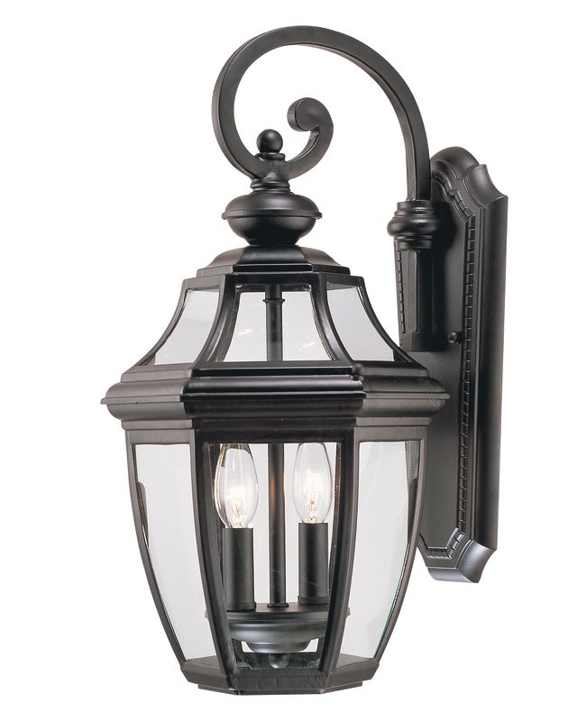 Savoy House 5-492 Endorado 2 Light Outdoor Wall Sconce Black Outdoor