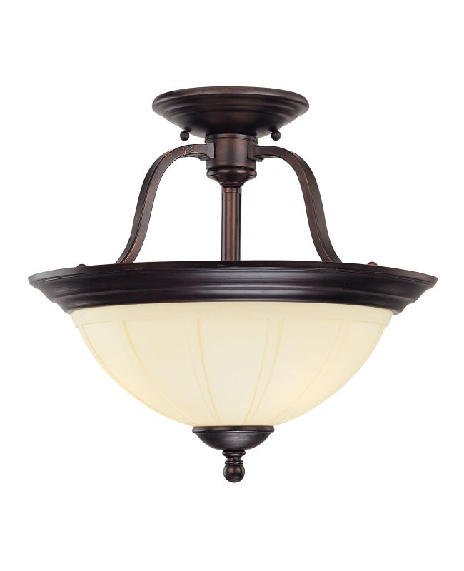 Savoy House 6-6906-3 Semi-Flush Ceiling Fixture from the Vanguard Sale $192.00 ITEM: bci267006 ID#:6-6906-3-13 UPC: 822920155482 :