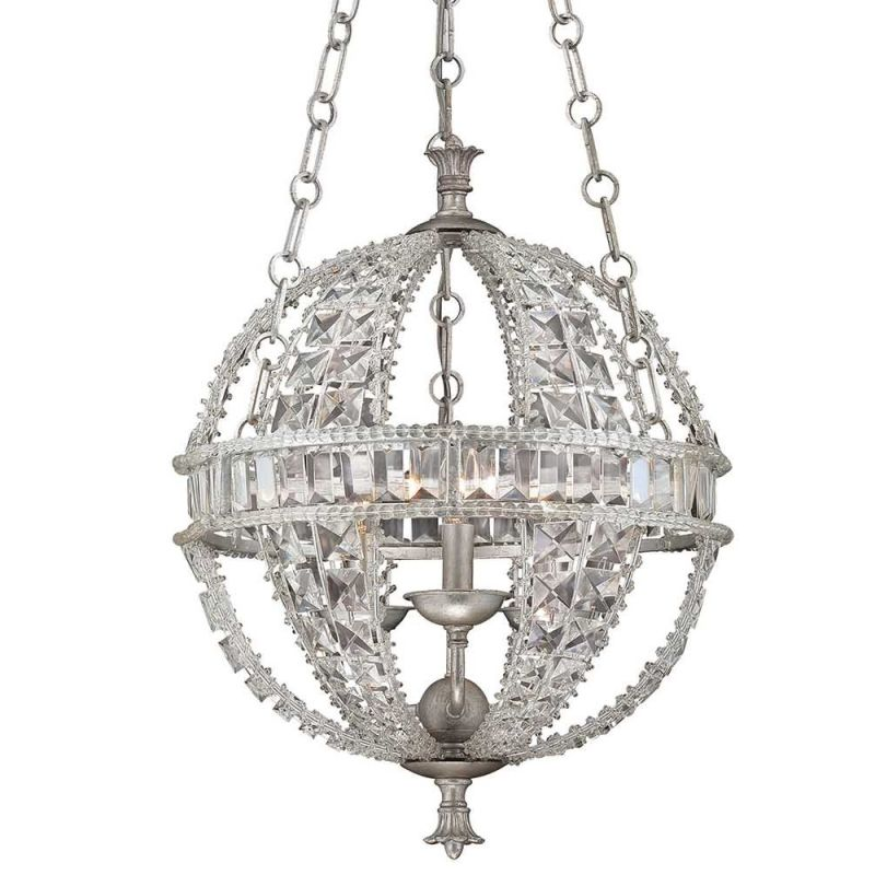 Savoy House 7-9130-3 Guilder Three Light Pendant with Clear Shade