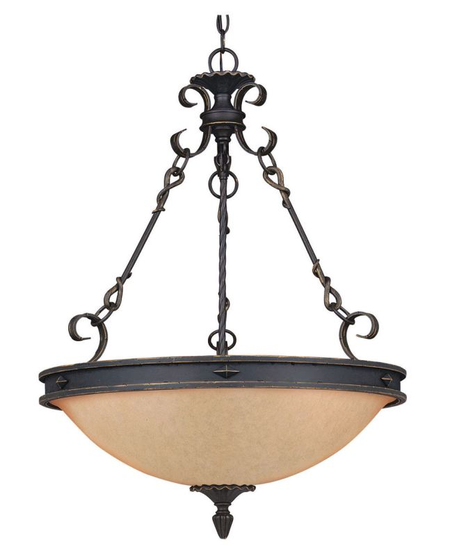 Savoy House 7-4317-5 Five Light Bowl Pendant from the Bourges