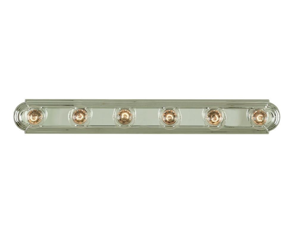 "Savoy House 87122 6 Light 36"" Wide Bathroom Fixture from the Bath"