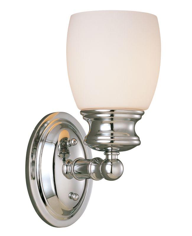 Savoy House 8-9127-1 Elise 1 Light Bathroom Wall Sconce Polished