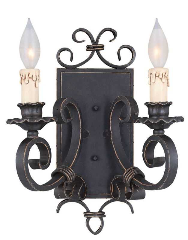 Savoy House 9-4318-2 Up Lighting Wall Sconce from the Bourges