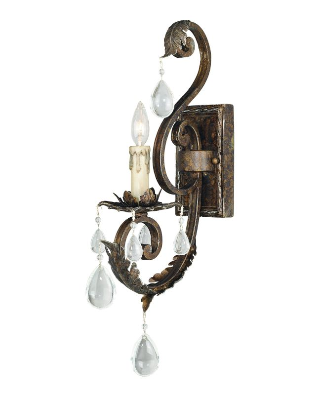 Savoy House 9-5316-1 Up Lighting Wall Sconce from the Chastain