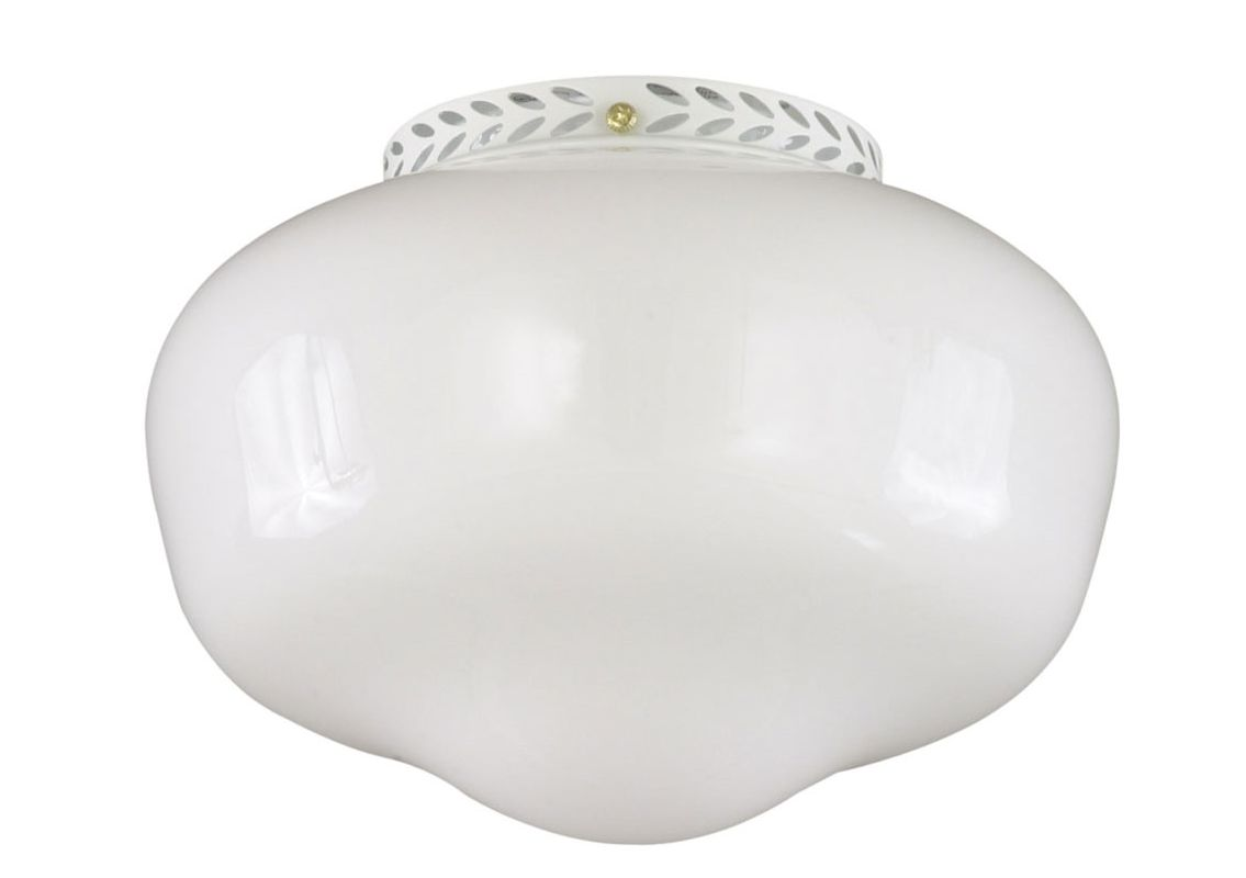 Savoy House FLGC-1102 Outdoor Living Single-Light Ceiling Fan Light Sale $50.00 ITEM: bci301654 ID#:FLGC-1102-WH UPC: 822920157226 :
