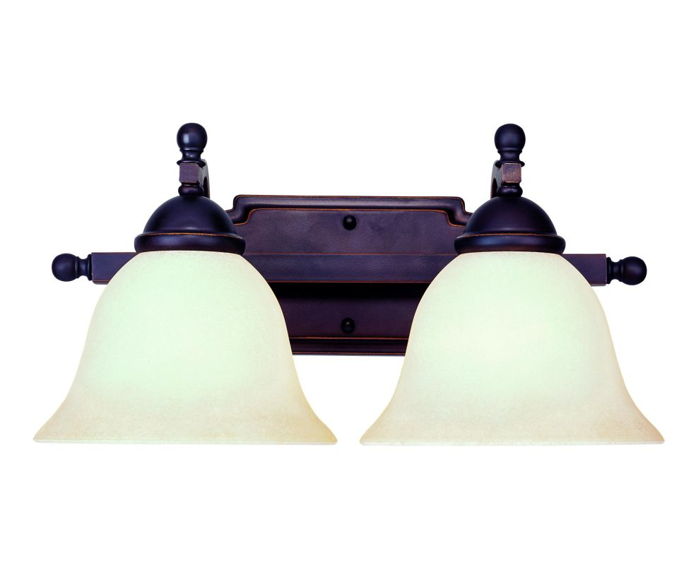 Savoy House GZ-8-2092-2 2 Light 15.75&quote Wide Bathroom Fixture from the