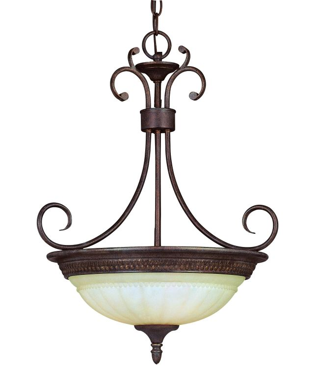 Savoy House KP-7-505-3 Three Light Bowl Pendant from the Liberty Sale $210.00 ITEM: bci335225 ID#:KP-7-505-3-40 UPC: 822920077111 :