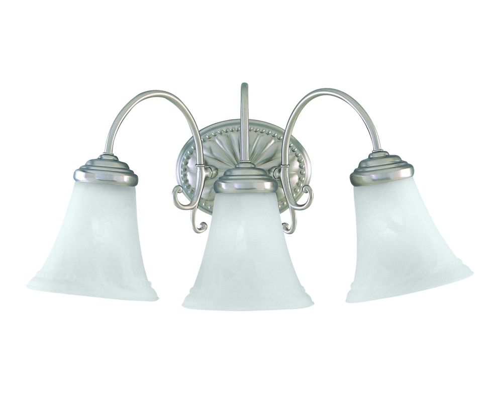 "Savoy House KP-8-510-3 3 Light 19.5"" Wide Bathroom Fixture from the"