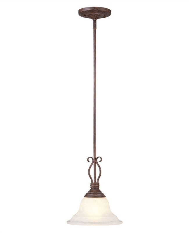 Savoy House KP-SS-130-1 Single Light Mini Pendant from the Oxford