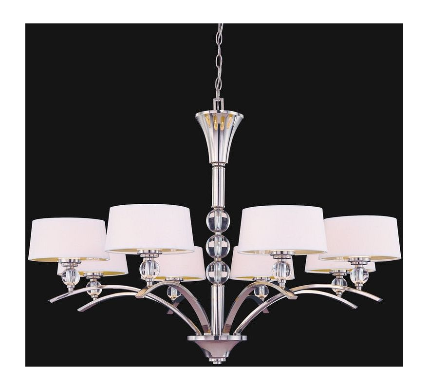 "Savoy House 1-1036-8 Murren 8 Light 41"" Wide 1 Tier Chandelier"