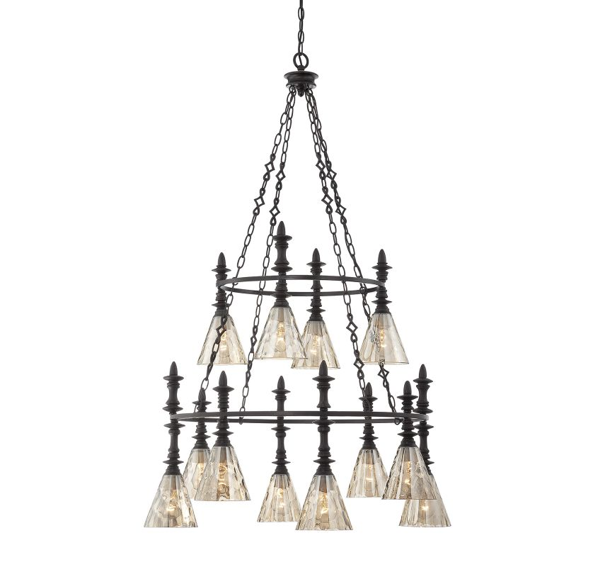 Savoy House 1-4901-12 Darian 12 Light 3 Tier Chandelier Oiled Bronze Sale $1398.00 ITEM: bci2380359 ID#:1-4901-12-02 UPC: 822920245923 :