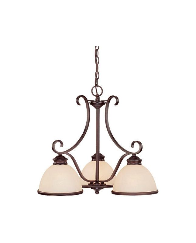 Savoy House 1-5777-3 Willoughby 3 Light 1 Tier Chandelier English