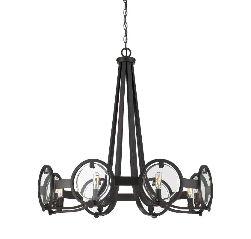 Savoy House 1-660-8 Byrne 8 Light Chandelier English Bronze Indoor