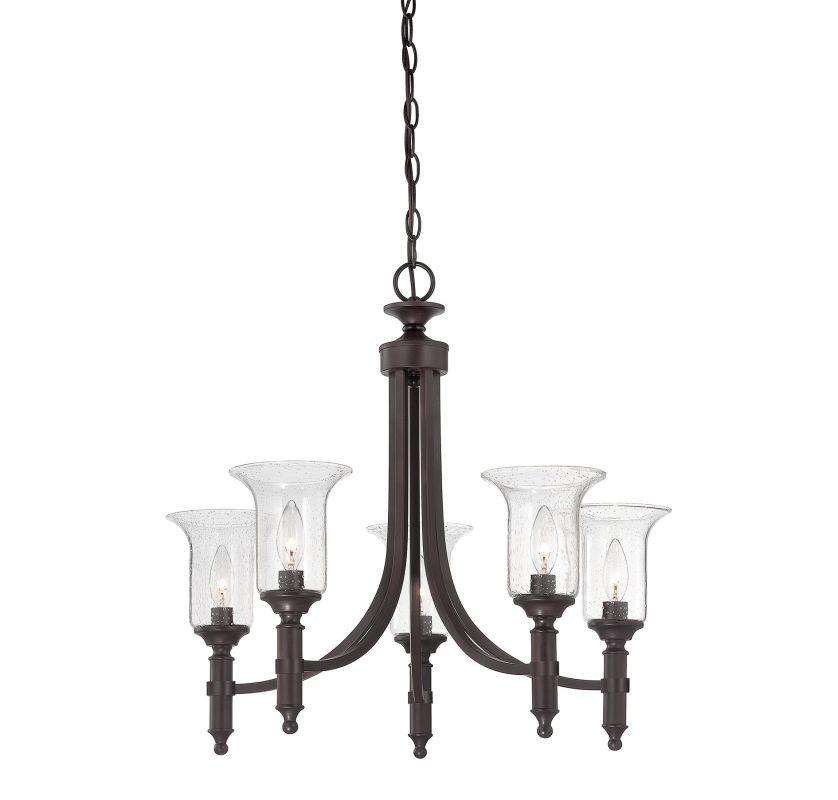 Savoy House 1-7130-5 Trudy 5 Light Chandelier English Bronze Indoor