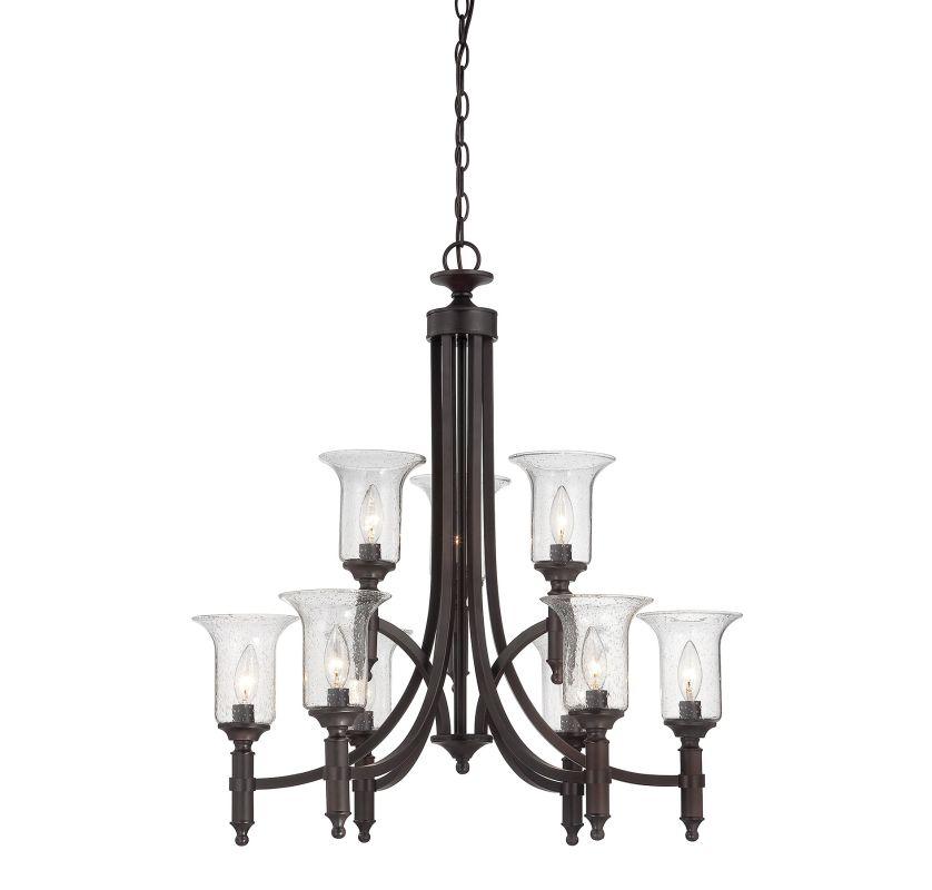Savoy House 1-7131-9 Trudy 9 Light Chandelier English Bronze Indoor