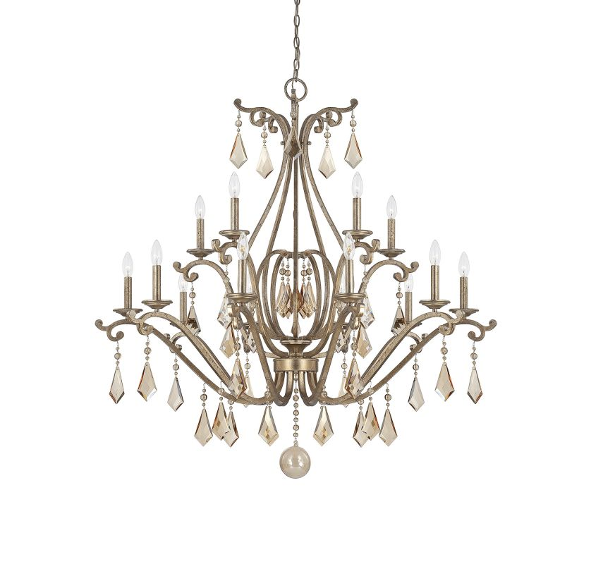 "Savoy House 1-8102-15 Rothchild 15 Light 45"" Wide 3 Tier Chandelier"