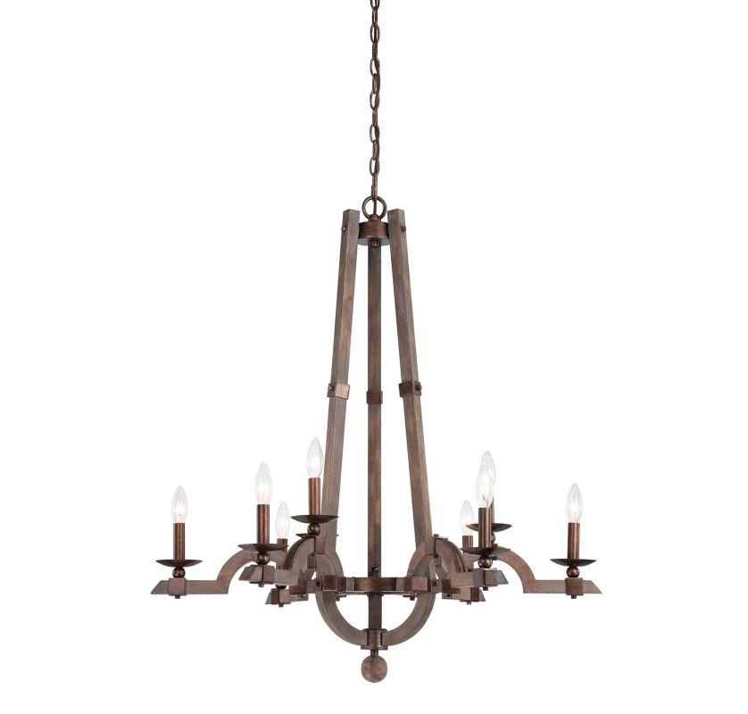 "Savoy House 1-9601-9 Berwick 9 Light 34"" Wide 1 Tier Chandelier Dark"