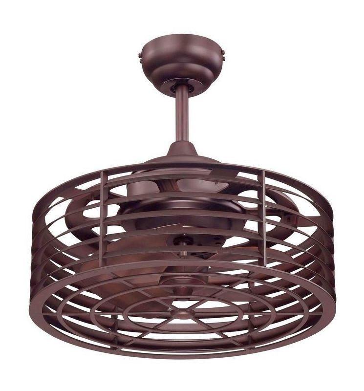 "Savoy House 14-325-FD Sea Side 14"" Span 4 Blade Indoor Ceiling Fan"
