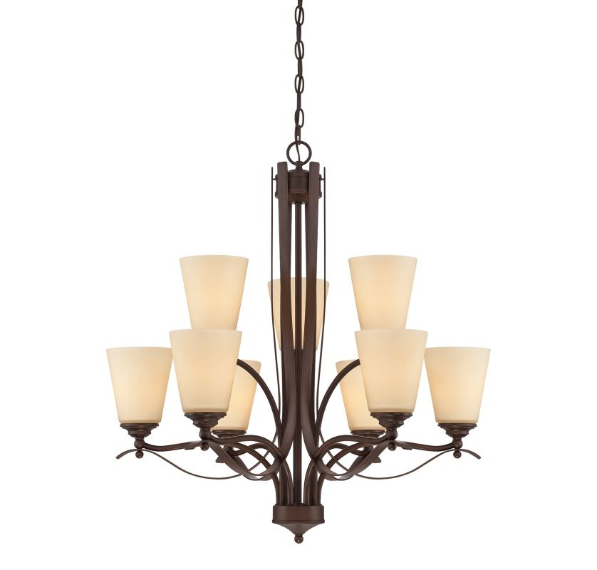 Savoy House 1P-2171-9 Maremma 9 Light Double Tier Chandelier Espresso