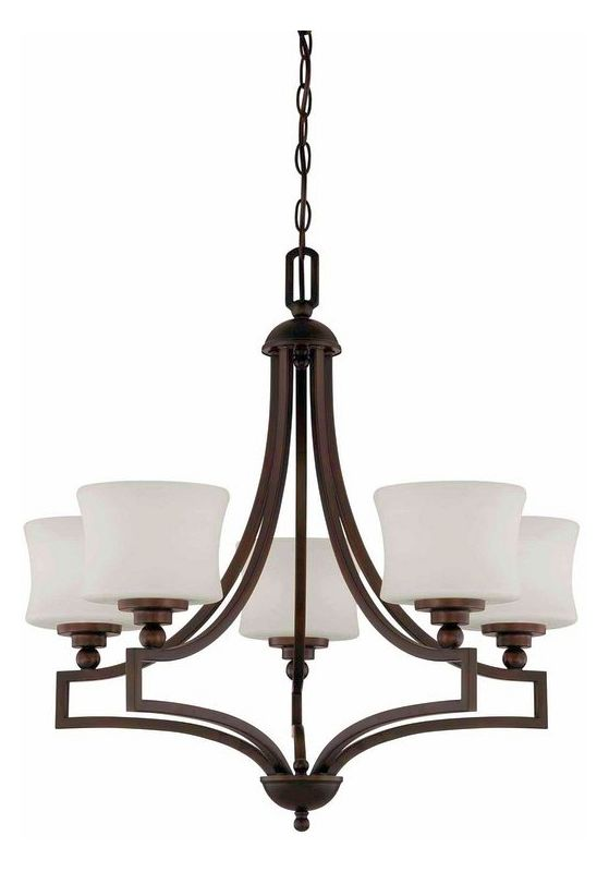 "Savoy House 1P-7210-5 Terrell 5 Light 26"" Wide 1 Tier Chandelier"