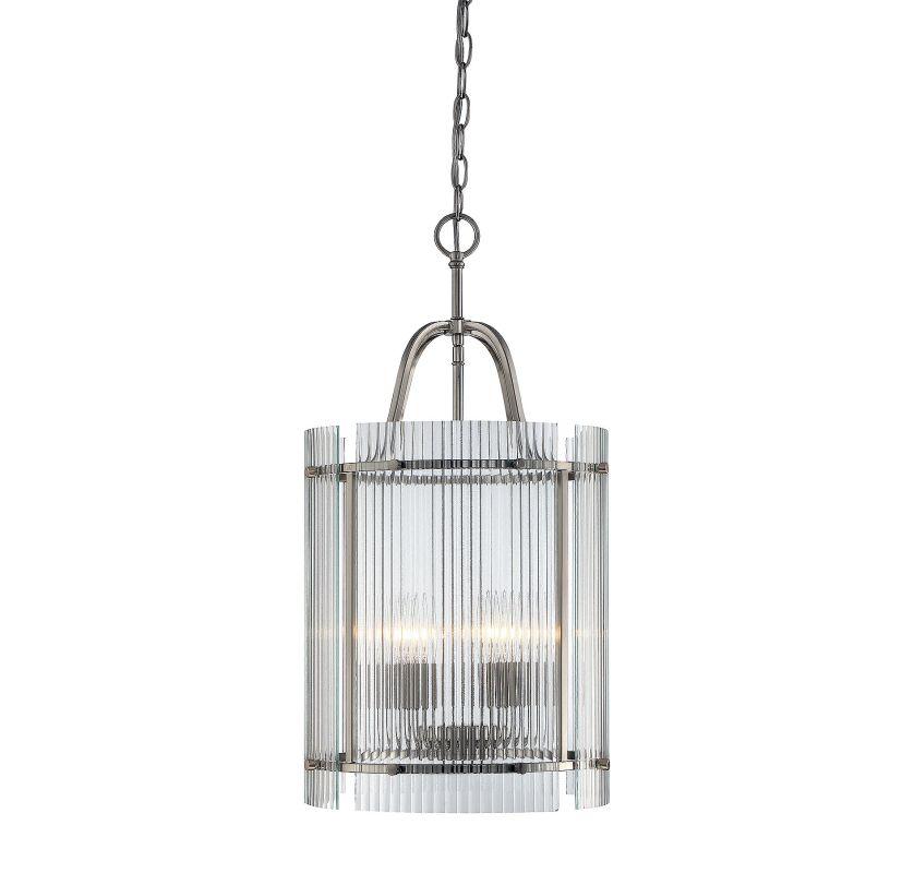 Savoy House 3-3086-5 Afton 5 Light Pendant Satin Nickel Indoor