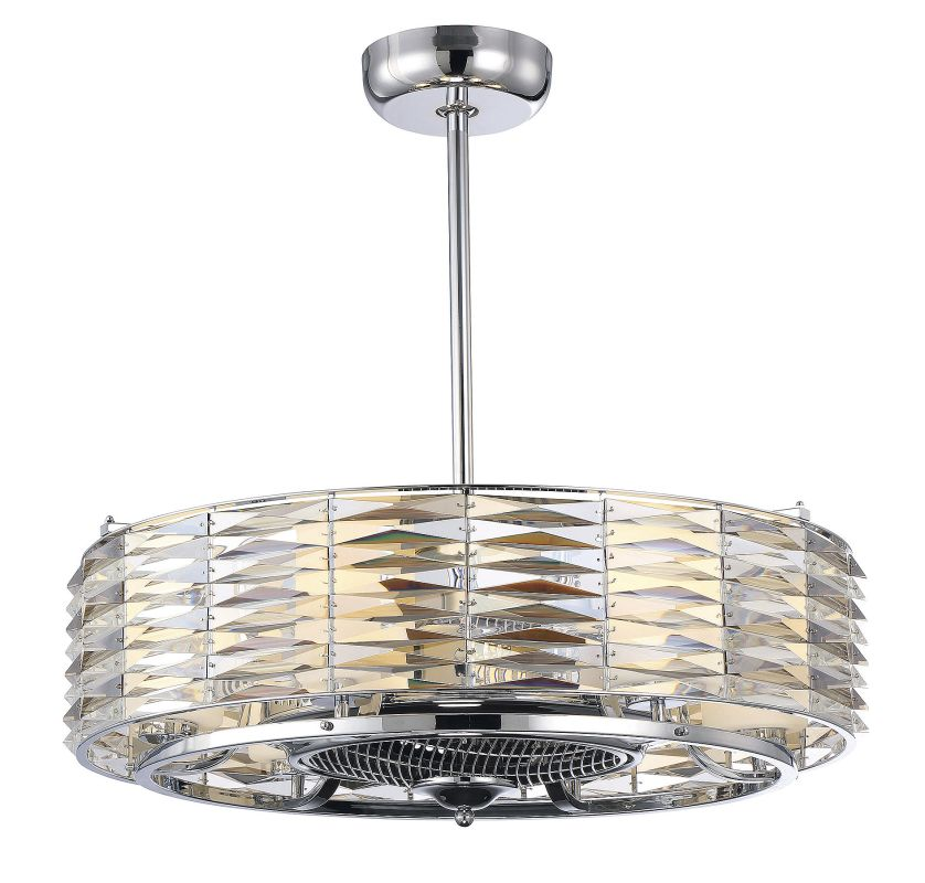 Savoy House 30-333-FD Taurus 6 Light Air Ionizing Fandelier Polished