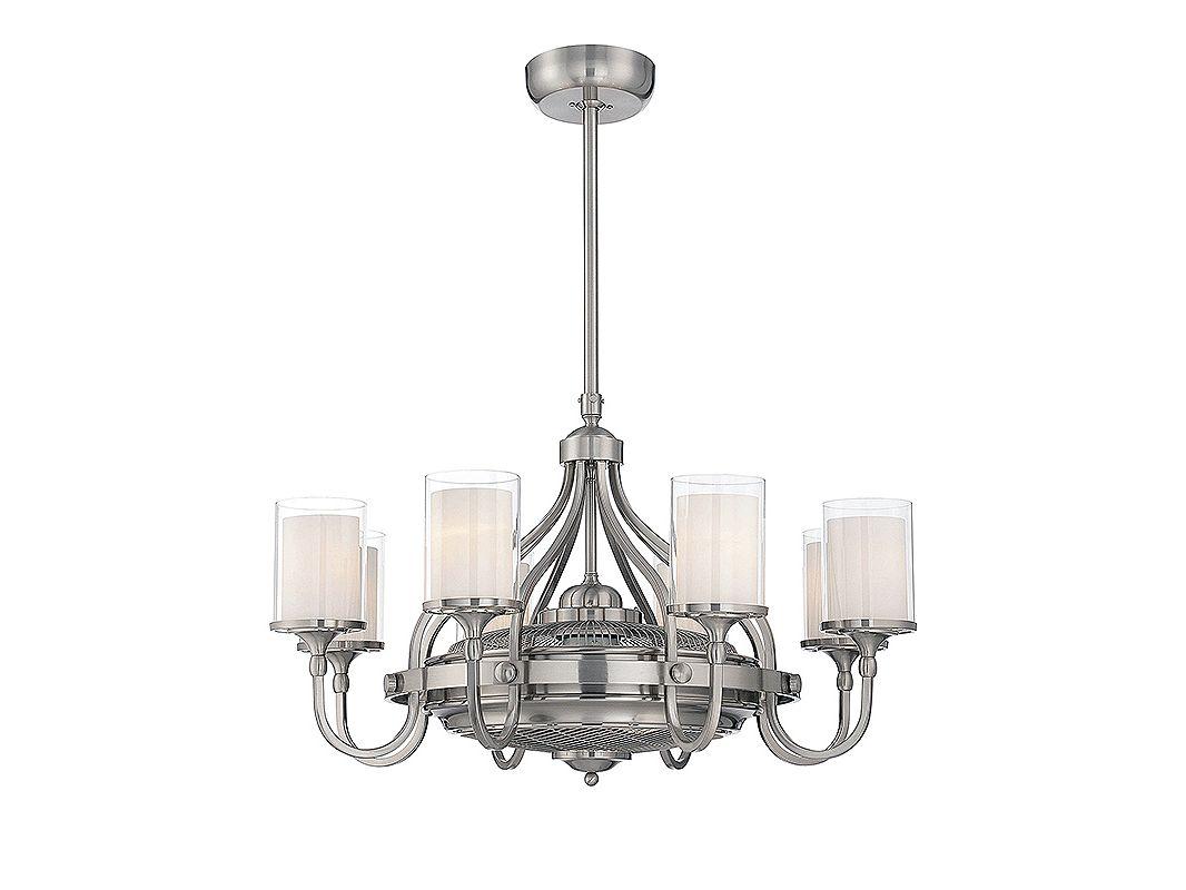 Savoy House 36-329-FD Etesian 8 Light Air Ionizing Fandelier Satin