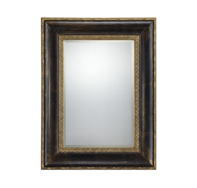 Savoy House 4-BLG2819 Victoria Rectangular Mirror Dark Bronze Home