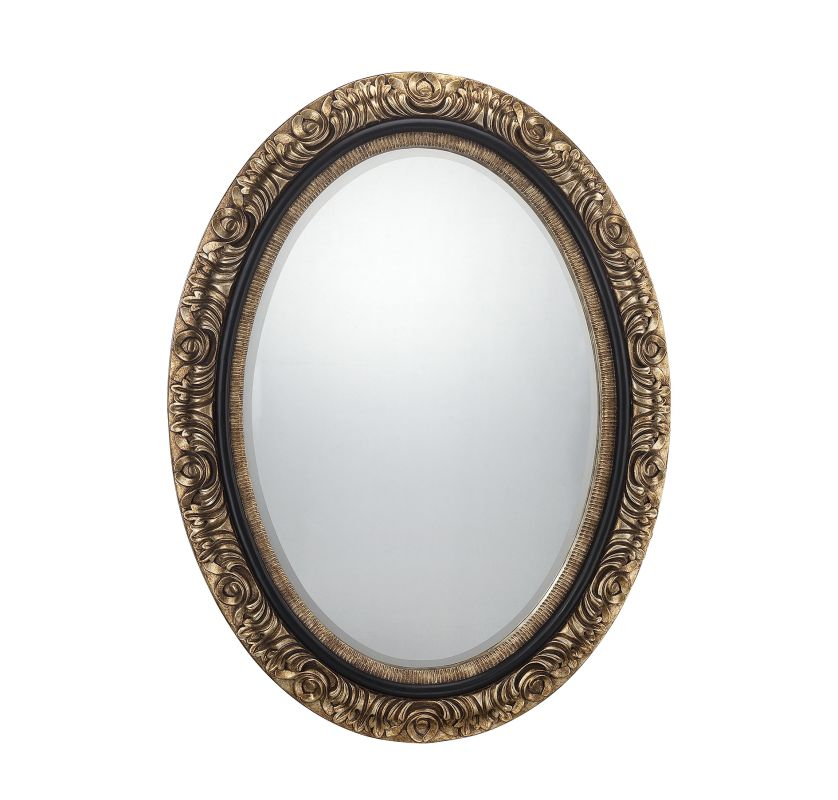 Savoy House 4-BLGFOV05122 Mirror Collection Oval Mirror Gold Home Sale $296.00 ITEM: bci2238236 ID#:4-BLGFOV05122 UPC: 822920236051 :