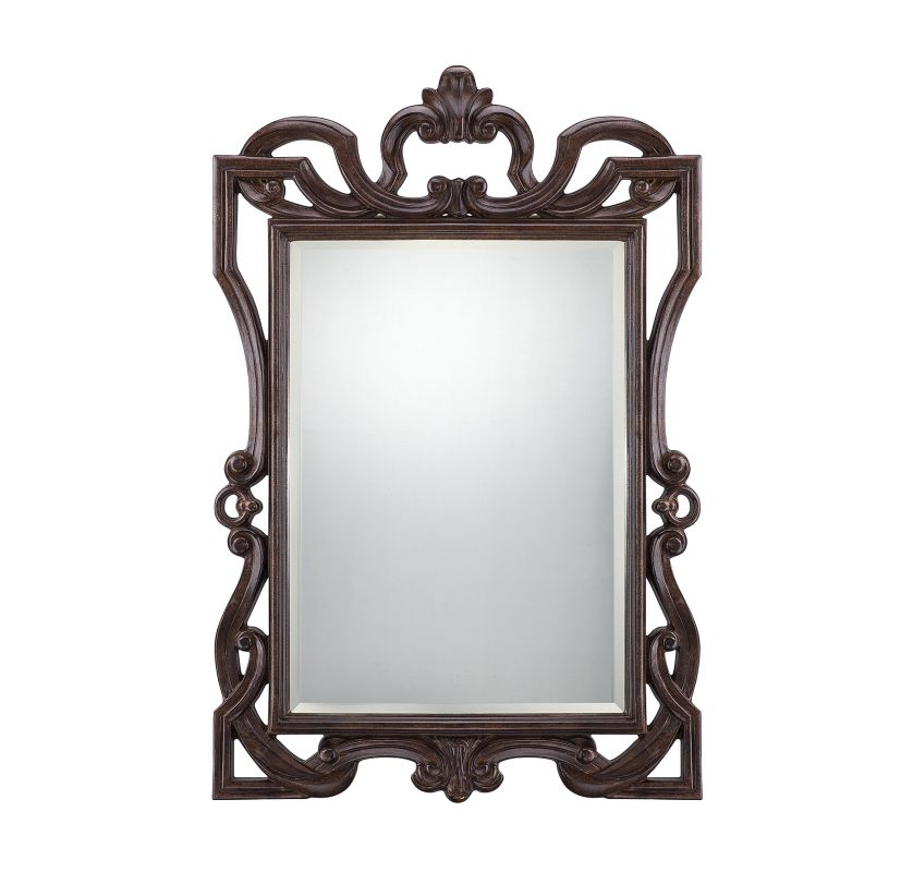 Savoy House 4-F05086 Naia Rectangular Mirror Bronze Home Decor