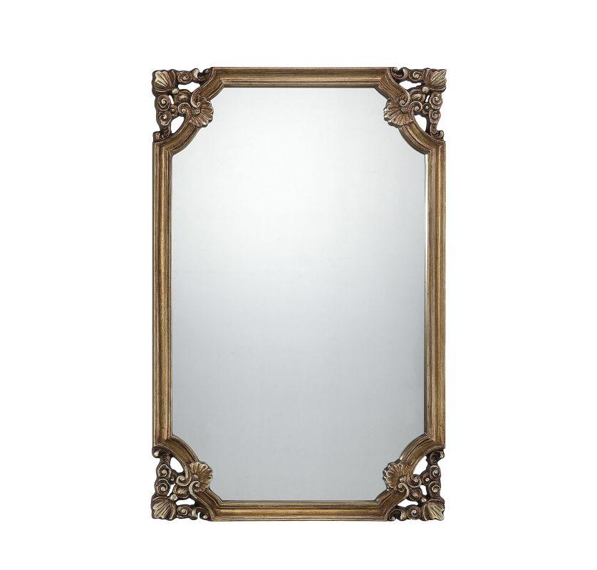 Savoy House 4-SF05161 Mirror Collection Rectangular Mirror Gold Home