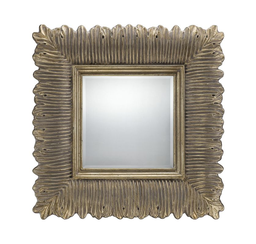 Savoy House 4-SF05178 Wendy Square Mirror French Gold Home Decor