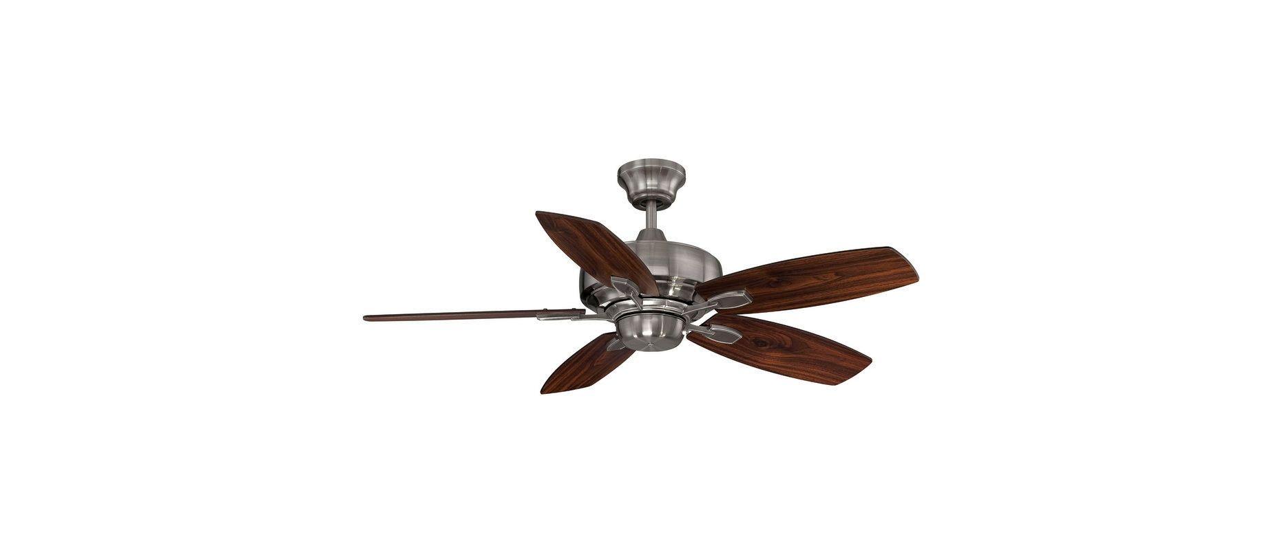 "Savoy House 42-830-5 Wind Star 42"" Span 5 Blade Indoor Ceiling Fan"