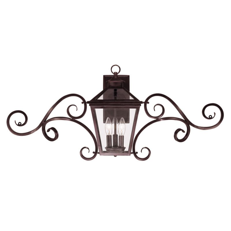 "Savoy House 5-143 Ellijay 3 Light 16.5"" Tall Outdoor Wall Sconce"