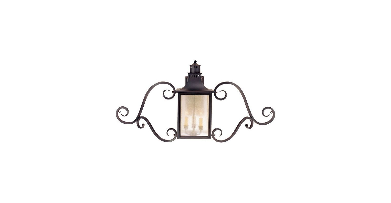 "Savoy House 5-253 Monte Grande 3 Light 22"" Tall Outdoor Wall Sconce"